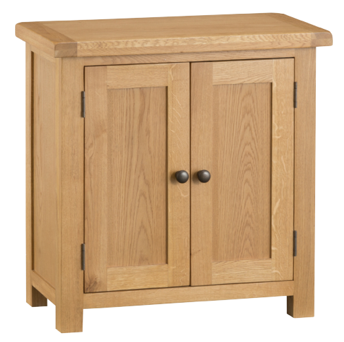 Cornish Oak Large Cupboard